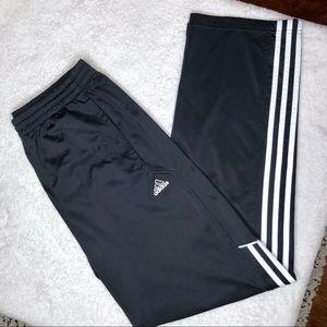 Adidas Climalite 3-Stripe Black Pants Men's